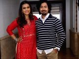 "Promotion of film ""Helicopter Eela"" - Kajol and Riddhi Sen"