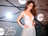 Actress Kangana Ranaut during a party organised to celebrate Zee's silver jubilee in Mumbai on Jan 13, 2018.