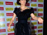 Kangana Ranaut during the launch of Grazia magazine's 100th Issue