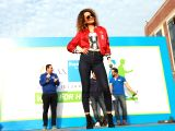 Saif Ali Khan and Kangana Ranaut during the Max Bupa Walk for Health