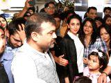 Karisma Kapoor during a promotional programme