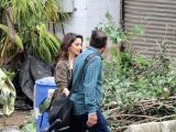 "Madhuri Dixit seen on the sets of ""Total Dhamaal"