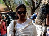 Neelima Azeem visits Anil Kapoor's residence