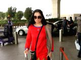 Padmini Kolhapure seen at airport