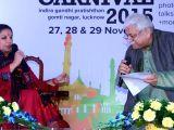 Lucknow Literature Carnival - Shabana Azmi