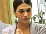 Shraddha Das during the launch of a watch collection