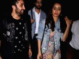 Shraddha and Siddhanth Kapoor spotted at airport