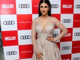 Actress Shruti Hassan at red carpet of Luxury & Fashion As Hello! & Audi in Mumbai on Oct 5, 2017.