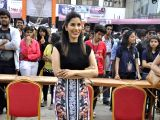Sophie Choudry attend Mithibai College Festival