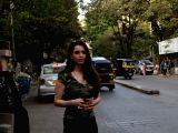 Soundarya Sharma seen at a restaurant