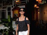 Yami Gautam seen at a restaurant