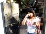 Zareen Khan spotted at Sutra Restaurant