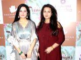 "Launch of ""Celebrating Vivaha"" collection- Padmini Kolhapure and Poonam Dhillon"