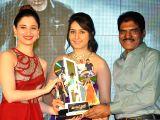 : (011215) Hyderabad: Bengal Tiger Movie Triple Platinum disc function