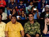 Akshay Kumar watching the Pro Kabaddi League match