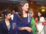 Allahabad: Sushmita Sen visits Allahabad