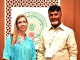 Andhra Pradesh  Chief Minister N. Chandrababu Naidu during a meeting with USIBC (US-India Business Council)  delegation led by USIBC Director and Legal Counsel Amy Hariani during ...