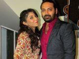 Actors Pratik and Devlina at premiere of Bengali film 'Chol Kuntal