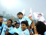 Chandigarh : CCL6 - Bhojpuri Dabanggs Vs Mumbai Heroes