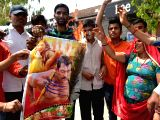 Bishnoi community demonstration against Salman Khan