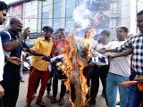 """Demonstration against """"Ae Dil Hai Mushkil"""