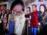 Bollywood playback doyenne Asha Bhosle, singer Alka Yagnik, actresses Rekha, Parineeti Chopra and Jaya Prada at the