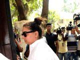 Vaibhavi Merchant visits Anil Kapoor's residence
