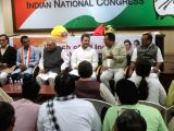 Congress Vice President Rahul Gandhi during a party meeting at the All India Congress Committee (AICC) office in New Delhi on Nov 16, 2017.