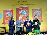 Delhi Chief Minister Arvind Kejriwal and Former BJP leader during launch of a book India Social authored by Ankit Lal in New Delhi on Nov 24, 2017.