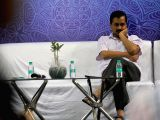 Delhi Chief Minister Arvind Kejriwal during a programme organised to interact with students of Delhi Government schools who have cleared IIT-JEE (Main) paper in New Delhi, on May 23, 2017.