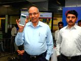 Delhi Metro Rail Corporation (DMRC) Managing Director Mangu Singh inaugurates High Speed Free Wi-Fi facility at all 50 stations of its Blue Line service in New Delhi on Aug 25, ...