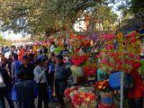 DHAKA, Feb. 14, 2018 - Bangladeshi people buy flowers as they celebrate the Valentine's Day in Dhaka, Bangladesh, Feb. 14, 2018.(Xinhua/Naim-ul-karim/IANS)