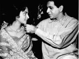 Dilip Kumar with Waheed Rehman, with whom he many notable films
