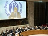 Filippo Grandi, the United Nations High Commissioner for Refugees (UNHCR), who briefed the Security Council on the situation in Myanmar on Tuesday, February 13, 2018, through videoconferencing is ...