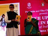 Amitabh launches Bhawana Somaaya book Once Upon A Time In India – A Century of Indian Cinema