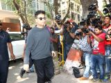 Filmmaker Karan Johar at actor Anil Kapoor's residence to meet the grief struck Kapoor family after sudden demise of actress Sridevi, in Mumbai on Feb 26, 2018. Veteran actress Sridevi passed ...
