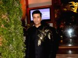 Karan Johar at a wedding reception