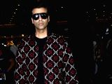 Karan Johar seen at airport