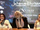Jahan-e-Khusrau - press conference