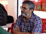 Ashwiny Iyer Tiwari and Nitesh Tiwari during a programme