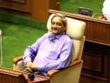Goa Chief Minister Manohar Parrikar during the Budget Session of state assembly in Panaji on Feb 22, 2018.