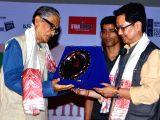 Guwahati: Kiren Rijiju felicitates filmmaker Abdul Majid