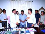 Hyderabad: Telangana state Chief Minister K Chandra Shekar Rao released Bandook audio