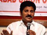 :Hyderabad: Telangana TDP working president A Revanth Reddy addresses a press conference in Hyderabad, on Jan 13, 2016. (Photo: IANS).