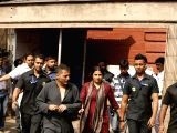 Vidya Balan shoots for her upcoming film `Te3n` at Writers Building (Batch-2)