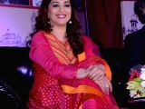 Lucknow: Madhuri Dixit Nene during the inauguration of Lucknow Literature Carnival