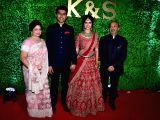 Wedding reception of lyricist Sameer Anjaan's daughter