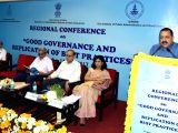 MoS Development of North Eastern Region (I/C), Prime Ministers Office, Personnel, Public Grievances & Pensions, Atomic Energy and Space, Dr. Jitendra Singh addresses the Valedictory Session ...