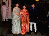Mumbai: Soha Ali Khan and Kunal Khemu`s wedding party