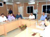 :New Delhi: Delhi Chief Minister Arvind Kejriwal, Deputy Chief Minister Manish Sisodia, Minister Satyendra Kumar Jain, AAP MP Sanjay Singh, Delhi Congress chief Ajay Maken and Congress leader ...
